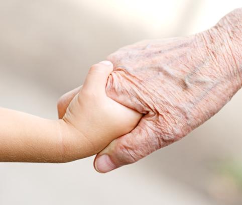 Derecho de una abuela a visitar a sus nietos