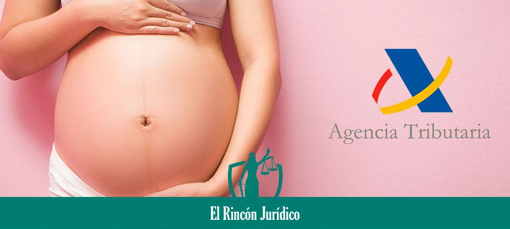 IRPF y la prestación por maternidad