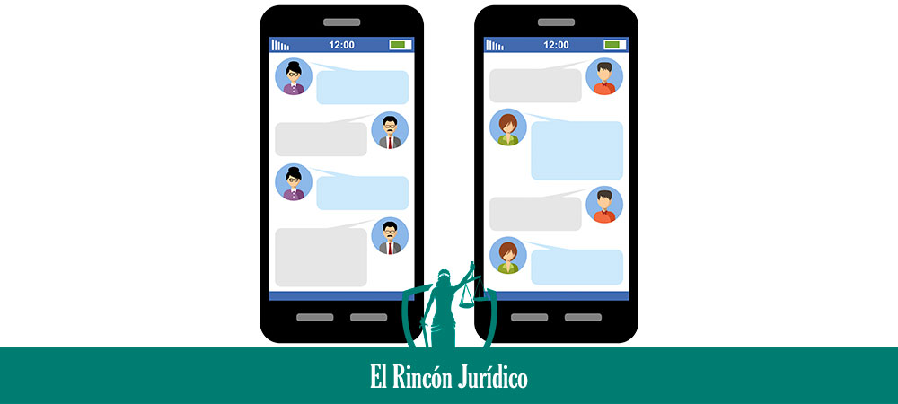 difundir capturas de conversaciones de WhatsApp