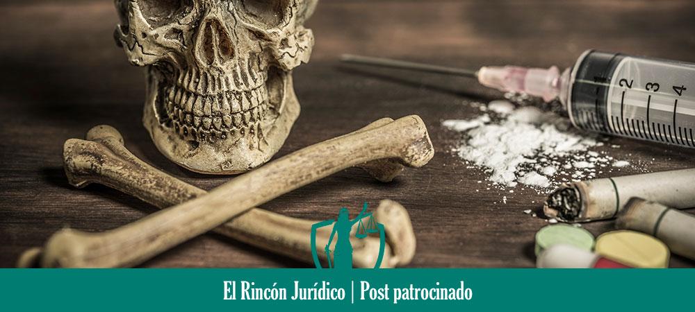 delito el tráfico de drogas